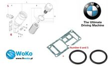 BMW OIL FILTER HOUSING GASKET + O RING SET M43 E30 E36 E46 E34 Z3 11421709800