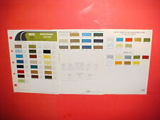 1973 CHRYSLER IMPERIAL PLYMOUTH BARRACUDA DODGE CHALLENGER CHARGER PAINT CHIPS