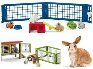 Schleich Rabbit Hutch Schleich Rabbit & Guinea Pig Run Schleich Rabbit