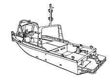 Ford, Sabre, Perkins 212, 255  6 Cylinder Marine Diesel #4 Fuel Injector Tube