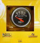 Auto Meter 3391 Sport Comp Voltmeter Volt Meter Gauge 2 116 8 - 18 Volts