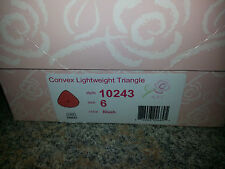 ABC Convex Lightweight Triangle Breast Form Style 10243 size 6 color blush NEW