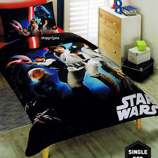 Star Wars - A New Hope - Disney - Single/US Twin Bed Quilt Doona Duvet Cover set