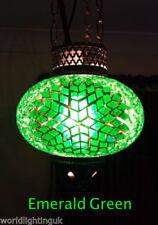 Plafonniers et lustres vert en verre pour la maison avec 1 - 3