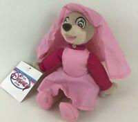 "Disney Store Robin Hood Maid Marian Mini Bean Bag 8"" Plush Stuffed Toy with Tags"