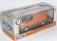 Ford Transit Custom V362 Orange Glow Collectors Model Scale 1/43 51276 g