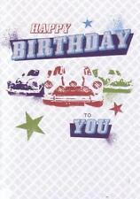 Birthday Card - Blank - features Classic Mini (Austin Morris Rover)