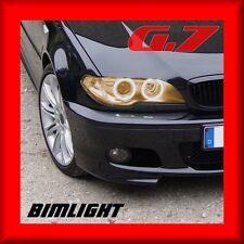 bimlight 7008 AMBRA Neon CCFL Anelli Fari di Posizione G7 BMW SERIE 3 E46