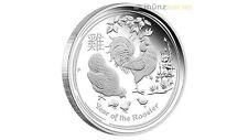 50 centavos lunar II año Hahn Rooster australia 2017 pp proof 1/2 onza plata Oz