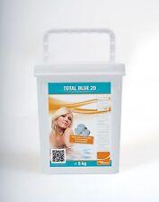 Total Blue 20g Multifunktionstablette 5kg Wasserpflege Pool Chemie Chlor 5 kg