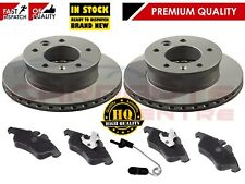 FOR MERCEDES SPRINTER 311 CDi FRONT BRAKE DISC DISC PAD PADS WIRE WEAR SENSORS