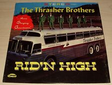 THE THRASHER BROTHERS RID'N HIGH ALBUM GOSPEL 1969 CANAAN RECORDS CAS-9660