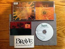 BRAVE - SEARCHING FOR THE SUN + STICKER + POSTCARD 2002 1PR NEW! THE GATHERING