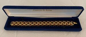 Nice Vintage Camrose & Kross Jacqueline Kennedy Bracelet With Box