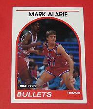 # 94 MARK ALARIE WASHINGTON BULLETS 1989 NBA HOOPS BASKETBALL CARD