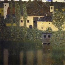 "Gustav Klimt, ""Schloss Kammer on Attersee I 1908"",  giclee open edition print"