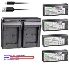 Kastar Battery Dual Charger for Sony NP-FC10 BC-VC10 & Sony Cyber-shot DSC-P8R