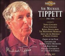 BRAND NEW UNOPENED 4 CD SET Sir Michael Tippett (CD, Jun-1998, 4 Discs, Nimbus)