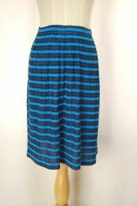 PLEATS PLEASE Blue Skirt ISSEY MIYAKE 156 2588