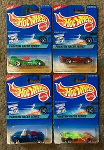 PHANTOM RACE SERIES 1996 Hot Wheels- 4 Car Set