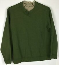 Mens Tommy Bahama Pullover Large Long Sleeve Cotton
