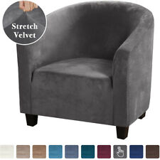 Stretch Spandex One-seater Sofa Chair Cover Club Elastic Chair Slipcover Patio