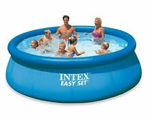 """12' x 30"""" Intex Easy Set Inflatable Above Ground Swimming Pool & Filter Pump"""