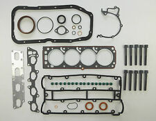 FULL ENGINE HEAD SUMP BOTTOM GASKET SET 105mm BOLTS ASTRA CALIBRA 16V  RED TOP