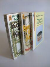 Konvolut 3 Taschenbücher Keime Sprossen Körner Der Garten im Zimmer K1608