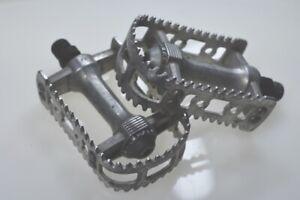 """Vintage SAKAE MP-130 BMX MTB Bike Bear Trap Pedals 9/16"""""""