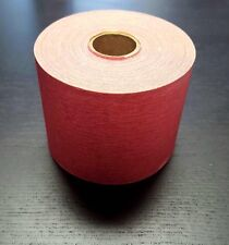 3M Red Sandpaper 120 Grit Continuous Roll stick it for longboard and block