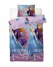 Disney Frozen 2 Elsa Anna Single Duvet Cover Bedding Set With Pillowcases