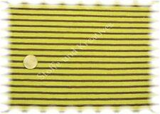 Campan Jersey grün,braun (burgund) 50 cm Hilco Streifenjersey Stoff gestreift