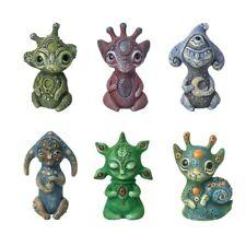 Alien Elf Statue Handmade Creatures Home Décor Resin Garden Sculpture Figurines