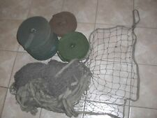 WWII US Army Burlap Camouflage Net Kit - 24'x24' with 7 Rolls of Scrim