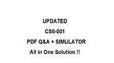 COMPTIA CSA+ CERTIFICATION CS0-001 Exam QA PDF&Simulator
