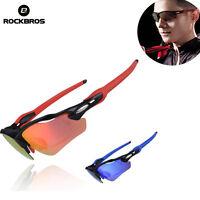 ROCKBROS Cycling Glasses Polarized Sunglasses For Cycling Fishing Climbing