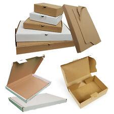 Maxibriefkarton Großbriefkarton Buchverpackung weiss braun Maxibrief Großbrief