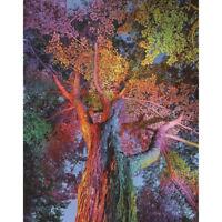 100% full diy 5d diamond painting tree cross stitch diamond embroidery pattern Z