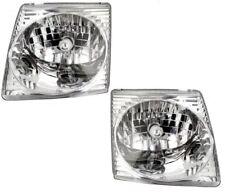 01 02 03 04 05 Explorer Sport (Trac) Left&Right Headlight Headlamp Lamp Pair L+R