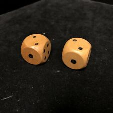 "1"" X 1"" Pair of Wooden Dice"