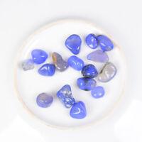 200g Wholesale Bulk Tumbled Stones Blue Chalcedony Crystal Healing Mineral Decor