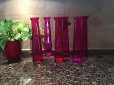 Bud Vases (set of 12) Magenta