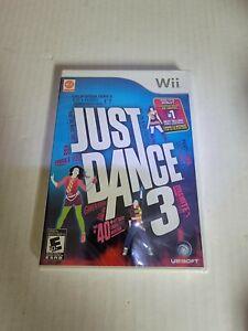 Just Dance 3 (Nintendo Wii, 2011) FACTORY SEALED slight label peel on spine