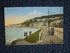 POSTCARD GOUROCK FROM WEST, SCOTLAND 1927