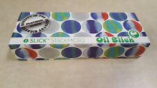 Slick Stack Micro Set by Oil Slick - Five 1/2 Gram Micro Silicone - Blue Set