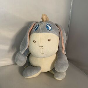 "Disneyland Baby Walt Disney World 9"" Plush Baby Eeyore Chime Rattle Toy"