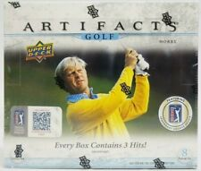 2021 Upper Deck Artifacts Golf Factory Sealed Hobby Box