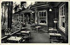 Hoffnungsthal bei Köln ~1940/50 Hotel Restaurant Bahnhof Königsforst alte AK