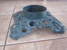 antique cast iron heavy duty planter/tree stand,